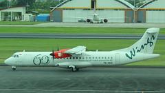 PK-WHS (GSairpics) Tags: pkwhs atr atr72 atr76 wingsabadi wingsabadiair liongroup aircraft aeroplane airplane aviation transport travel turboprop airline airliner dps wadd denpasarairport bali indonesia ngurahraiinternationalairport 60thatr72toliongroup