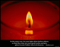 The Light (Carl Cohen_Pics) Tags: matthew516 englishstandardversion pictureofscripture bible newtestament scripture verse truth hope light faith matthew candle gospel goodnews witness salvation sigma105mmf28exdgoshsmmacrolens sigma macro macrophotography
