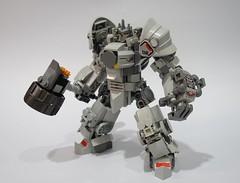 Reinhardt05 (chubbybots) Tags: lego overwatch reinhardt mod 75973