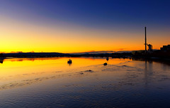 Sunset on The River Forth. (axlrose2112) Tags: pentaxart scotland travel water escape sunset