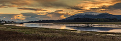 'At the end of a winters day' (cazalegg) Tags: dumfriesshire glencaple water sunset boat sea estuary scotland nikon d4s galloway