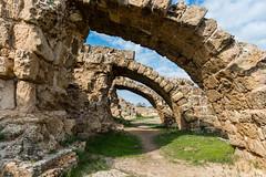 Buttresses at Salamis (George Plakides) Tags: salamis city walls buttresses stones masonry teucer tevcros iliad ajax telamon zeus temple troy