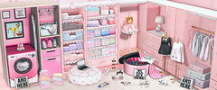 L241 (JoJo Delvalle - Photographer & blogger) Tags: secondlife game virtual 3d doll cute pink astralia uber n21 lagom harajuku halfdeer soiree wednesday epiphany foxcity reign applefall