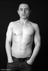 IMG_4889b (shotbygrant) Tags: shotbygrant alex malemodel male model blackandwhite blackwhite body torso topless pecs muscle shirtless