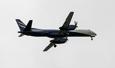 G-CFLV EASTERN SAAB 2000 (toowoomba surfer) Tags: aeroplane aviation aircraft airline airliner ncl