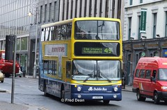 Dublin Bus AV208 (01D10208). (Fred Dean Jnr) Tags: lw51znl busathacliath dublinbus dublinbusroute49 rend volvo b7tl alexander alx400 av208 01d10208 collegestreetdublin may2006 dublinbusyellowbluelivery