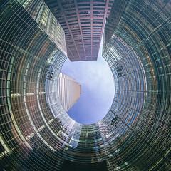 See That Hole UP There in My Heart? (Thomas Hawk) Tags: 731lexingtonavenue america bloombergtower césarpelli manhattan nyc newyork newyorkcity pelliclarkepelli usa unitedstates unitedstatesofamerica architecture
