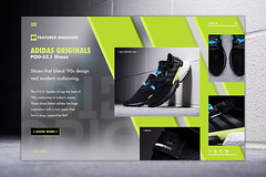 Adidas originals POD-S3.1 (nuthon) Tags: shoe sneaker web ui ux nuthon graphic layout portfolio 2019 brand adidas personal work pod 31 collection flat icon app boost branding new release shop promote concept design