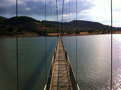 Въженият мост до село Лисиците