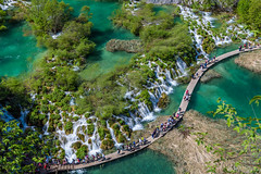 to paradice (ck0375s) Tags: plitvice croatia nikon landscape scenery water lake waterfall nature amateur tree forest park daytime trip travel heritage wood green sunny