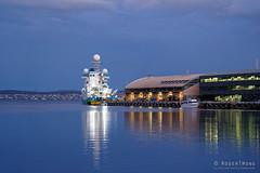 20190310-08-Ocean Investigator reflection (Roger T Wong) Tags: 2019 australia hobart oceaninvestigator rogertwong sel24105g sony24105 sonya7iii sonyalpha7iii sonyfe24105mmf4goss sonyilce7m3 tasmania evening rain reflection ship