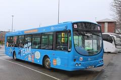 Go North East Join The Team 4963 / NL52 WVU (TEN6083) Tags: gateshead dunston metrocentre solar wright l94ub scania nl52wvu 4963 drivertrainingvehicle jointheteam gonortheast transport buses bus nebuses