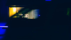 Antwerp (Marc Pennartz) Tags: cinematic street antwerp belgium night yellow blue darkness abstract