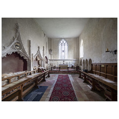 Chancel (badger_beard) Tags: st augustine canterbury burrough green cambridgeshire south cambs east newmarket parish church england chancel recess monuments