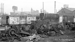 c.08/1964 - Sculcoates, Hull, East Yorkshire. (53A Models) Tags: britishrailways ner lner b16 460 steam withdrawn drapers scrapyard sculcoates hull eastyorkshire train railway locomotive railroad