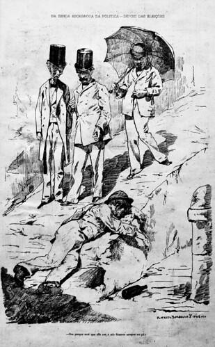 Sordid political path - After elections (1879) - Rafael Bordalo Pinheiro (1846 - 1905)