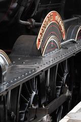 _1008742 (Stephen.Bingham) Tags: gloucestershirewarwickshiresteamrailway dinmoremanor dcg9 steamlocomotive steamengine ccbysa creativecommons attributionsharealike valvegear wheels drivewheel nameplate gwsr
