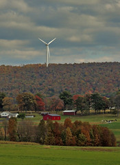 Windmill over Somerset (George Neat) Tags: clouds windmill somerset county pa pennsylvania laurelhighlands scenic scenery landscapes outside georgeneat patriotportraits neatroadtrips