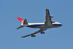 'BA219V' (BA0219) LHR-DEN (A380spotter) Tags: takeoff departure climb climbout bank banking turn belly boeing 747 400 gcivb negus19741980 negusnegus britishairways10019192019 centenary retrocolours livery scheme retrojet 2019 ba100 baretrojet internationalconsolidatedairlinesgroupsa iag britishairways baw ba ba219v ba0219 lhrden runway09r 09r london heathrow egll lhr