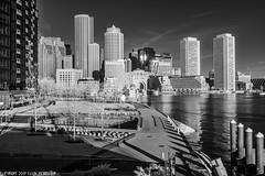 D7K_0206: Boston sunrise in infrared (Colin McIntosh) Tags: boston fanpier infrared nikon d7100 kolari 720nm 24mm f28nc manual focus ngc