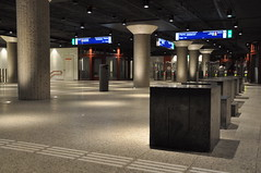 Station Life (Vinylone AFS-UTS) Tags: stationlife weesperplein theurbanlandscape colorfull setting moody