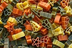 Seasons Eatings (RoystonVasey) Tags: canon eos 400d nifty fifty 50mm pasta shapes star christmas tree