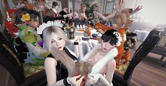 @SSOC new year party (maho.R) Tags: ssoc party secondlife zenith mopirecity cheveux breathe oukagacha cosplay costume chinadress kimono