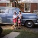 Susan & Bucky & Lucky; 1st day of school; 9-54