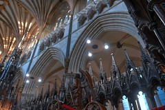 DSC_4571_2_3_4_5_tonemapped (IMX2019) Tags: art light cathedral old interior masonry god religion pulpit nave organ photo picture decoration shadows nikon d500 d700 35mm 1755mm zeiss nikkor exeter candle