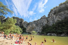 summer memories.... (chtimageur) Tags: ardeche summer 2018 river landscape gorges water fun canon 6d mark ii 1635 f4 holidays