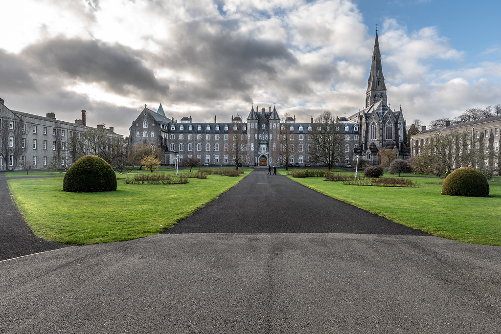 TODAY I VISITED ST. PATRICK'S COLLEGE IN MAYNOOTH [THE NATIONAL SEMINARY OF IRELAND]-147769