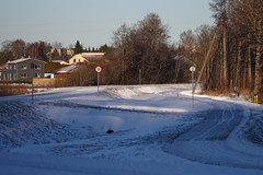 Jüri alevik (Jaan Keinaste) Tags: pentax k3 pentaxk3 eesti estonia harjumaa raevald jürialevik maantee road talv winter jupiter37a