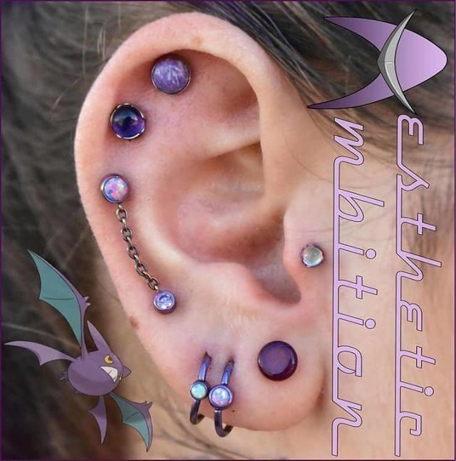 Ear piercings tumblr tagged