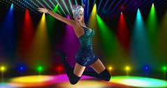 Disco Inferno (Logan Angelicus) Tags: seduce hot beauty beautiful erotic avatar secondlife sl woman lesbian babe sexual dirty hawt girl female feminine pretty gorgeous model modeling photography catwa catya maitreya lumipro art femme fatale disco dancing dance stage