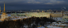 Back from USSR (Le.Patou) Tags: russie russia россия saintpétersbourg stpetersburg санктпетербург cathedrale cathedral view panorama panoramic snow fz1000 patouplaylist эрмитаж адмиралтейство