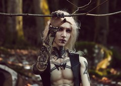Travel in the woods 1 (Nattmaran) Tags: bjd doll black metal varg blond simply divine thomas loongsoul