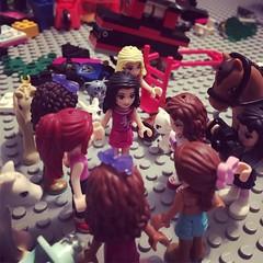 The ladies meet to take action. (BrickPhilG) Tags: lego vintagelego legos legophotography legominifigures legotable legoland legomania legogram legoart legostory legofan legocity legolife legocastle legopirates legoninja ninjago legominifigure legomovie legoaddict legobricks legominifigs legocollection legofriends legoworld legominifig legoideas legoconflict legohero legobattle