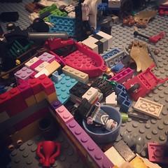 Tsunami Survivor... (BrickPhilG) Tags: lego vintagelego legos legophotography legominifigures legotable legoland legomania legogram legoart legostory legofan legocity legolife legocastle legopirates legoninja ninjago legominifigure legomovie legoaddict legobricks legominifigs legocollection legofriends legoworld legominifig legoideas legoconflict legohero legobattle