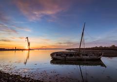Shipwreck at Tipner Lake, Hampshire - UK (Mark MacFeeters) Tags: shipwreck sunset portsmouth tipner canon7dmk2 hampshire