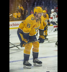 #15 Craig Smith - Nashville Predators Right Winger