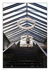 _7104211 mf copy 01 (Michael Fleischer) Tags: copenhagen city daylight moment building light grey people pattern staircase sky sigma 24mm f14 art
