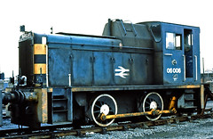 06006. (curly42) Tags: 06006 d2423 class06 shunter railway britishrail scottishregion dundeerailwaydepot 040 andrewbarclay withdrawn