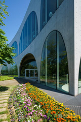 Exterior view of Tama Art University, library (多摩美術大学図書館) (christinayan01 (busy)) Tags: japan tokyo architecture building perspective library
