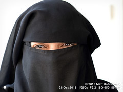 2015-04b Eyes Only 2018 (17) (Matt Hahnewald) Tags: matthahnewaldphotography facingtheworld people head eyes beautifuleyes lookingatcamera mysterious clothes clothing black veil niqab consent respect super concept humanity living travel culture tradition lifestyle religion modesty virtue religious traditional cultural muslim muslima islam islamicclothing jhunjhunu shekhawati rajasthan india asia asian indian rajasthani individual oneperson female young woman portraiture detail naturalframe nikond610 nikkorafs85mmf18g 85mm 4x3ratio resized 1200x900pixels horizontal street portrait closeup headshot fullfaceview outdoor posing beautiful fabulous burqa covering clarity
