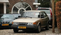 Saab 900 1987 (XBXG) Tags: sr03tj saab 900 1987 saab900 willem de zwijgerlaan overveen nederland holland netherlands paysbas youngtimer old classic swedish car auto automobile voiture ancienne suédoise sverige sweden zweden vehicle outdoor