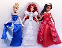 Vive La France! (honeysuckle jasmine) Tags: paris france thelittlemermaid ariel cinderella elena elenaofavalor barbie dolls doll disneyprincess disney