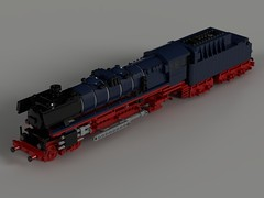 DB BR 01 SIMON JAKOBI final version 01 (Dr Snotson) Tags: lego train deutsch bahn db baureihe br 01 wip