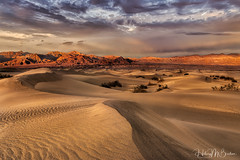 _6HB7518 (Hilary Bralove) Tags: sunset deathvalley sand sanddunes mesquitesandunes landscape nikon california nature