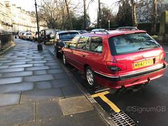 2000 Peugeot 406 2.0L W847 PKS (SignumGB) Tags: 406 estate peugeot pug red 2000 w847 pks