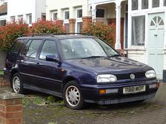1997 Volkswagen Golf GL 1.9 TDi (Neil's classics) Tags: vehicle 1997 volkswagen golf gl 19tdi vw touring station wagon estate abandoned car